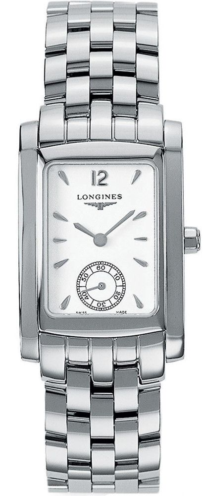 Longines Watch DolceVita Ladies #bezel-fixed #bracelet-strap-steel #brand-longines #buckle-type-deployment #case-depth-8mm #case-material-steel #case-width-22-4-x-26-85mm #delivery-timescale-1-2-weeks #dial-colour-white #gender-ladies #luxury #movement-quartz-battery #official-stockist-for-longines-watches #packaging-longines-watch-packaging #sku-lng-152 #subcat-dolcevita #supplier-model-no-l5-502-4-16-6 #warranty-longines-official-2-year-guarantee #water-resistant-30m