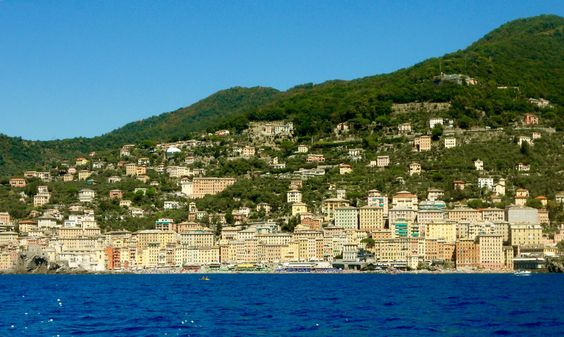 Camogli, The Italian Riviera.