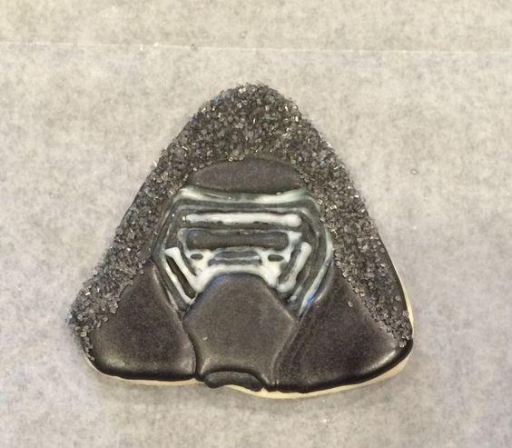 Star Wars The Force Awakens Kylo Ren Cookies