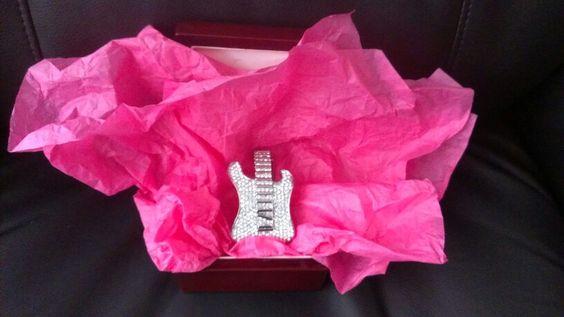 SandraK's Christmas Guitars! Wrist Candy!