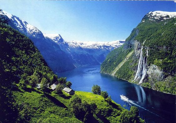 Geirangerfjorden - Norway