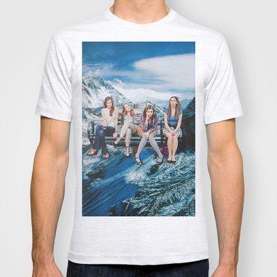 Mountain Girls T-shirt by John Turck  - $18.00