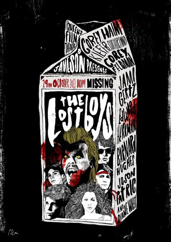 The Lost Boys by Peter Strain * all time Classic.. first Vamp love:)