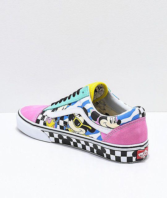 Vans Old Skool 80's Mickey Skate Shoes