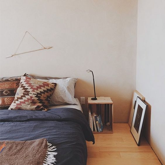Cozy bed college dorms and beds on pinterest for Low to ground beds