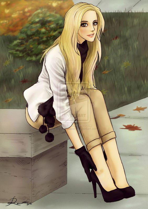 Autumn Blonde by FreeLikeWater.deviantart.com on @deviantART