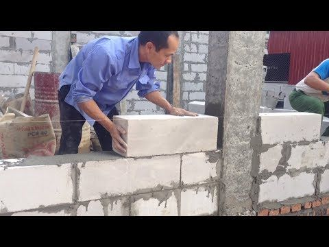Latest Smart Technology Construction Walls Fastest Modern Building Construct Youtube Modern Buildings Building A Container Home Brick House Designs
