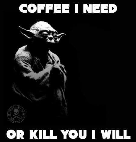 Yoda and Coffee