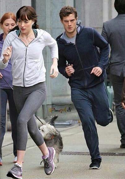 Christian and Ana. Jamie Dornan and Dakota Johnson Fifty ...