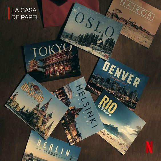 """167.2 mil curtidas, 2,257 comentários - Netflix Brasil (@netflixbrasil) no Instagram: """"Sempre quis conhecer o Rio. Não disse qual. #LaCasaDePapel"""""""