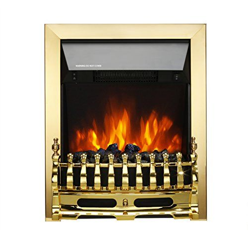 Finether 2000w Freestanding Fireplace Electric Fires Stove Heater With Detachable Gra Freestanding Electric Fire Freestanding Fireplace Best Electric Fireplace