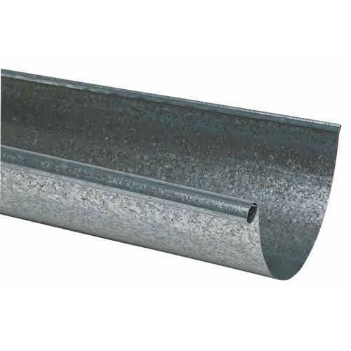 Amerimax L10285bx Rain Gutter 10 Ft L 5 In W Galvanized Steel Rain Gutters Galvanized Gutters Gutter
