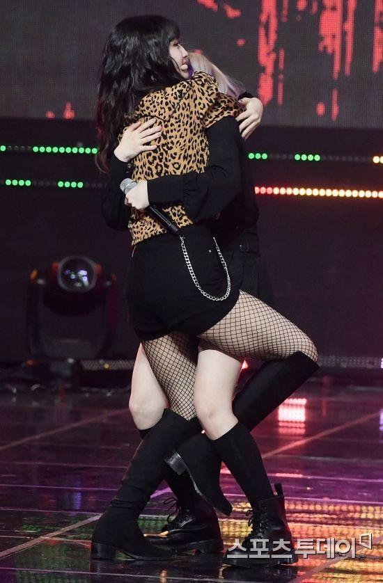 Idols Generation Fashion Kpop Girls Fishnet