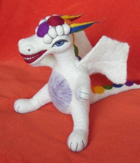 Dia-Show - Meisterdrachen® - starke Drachen aus Filz