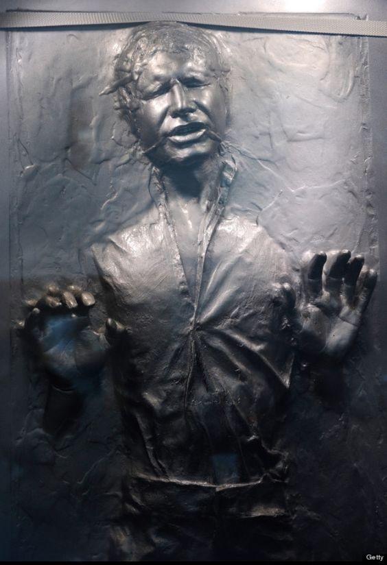 Han Solo frozen