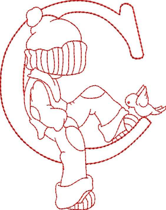 alfabeto-sunbonnet-sue-risco-bordado-letras-molde+(3).png (922×1165):