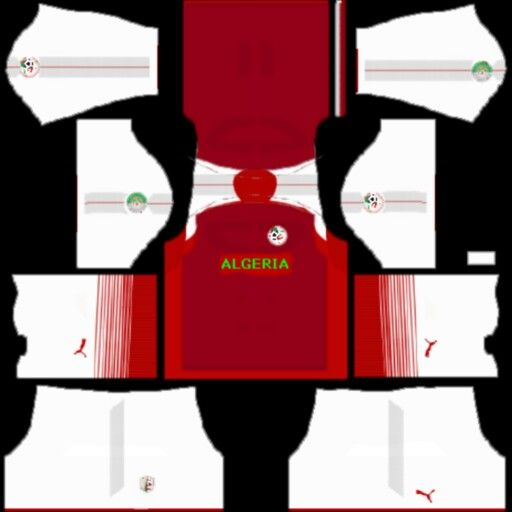 Kit Algeria Futebol