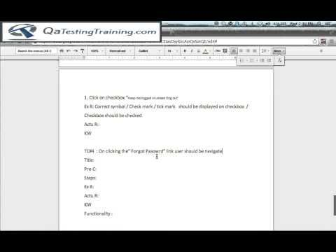Test Cases - test case template How to write test cases test case - test case template
