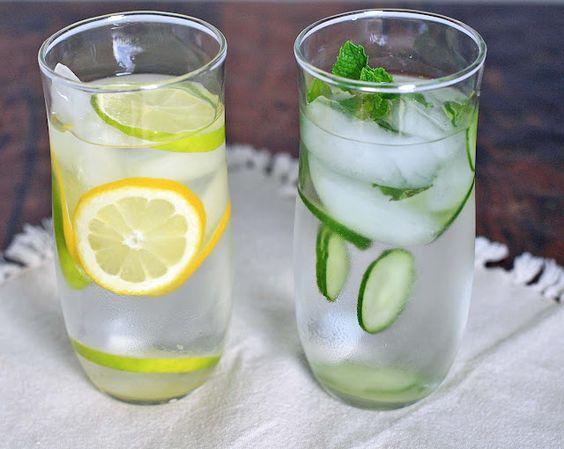 Detox: Summer Drink, Detox Water, Detox Recipe, Infused Water, Flavored Water, Healthy Recipe, Food Drink, Healthy Food