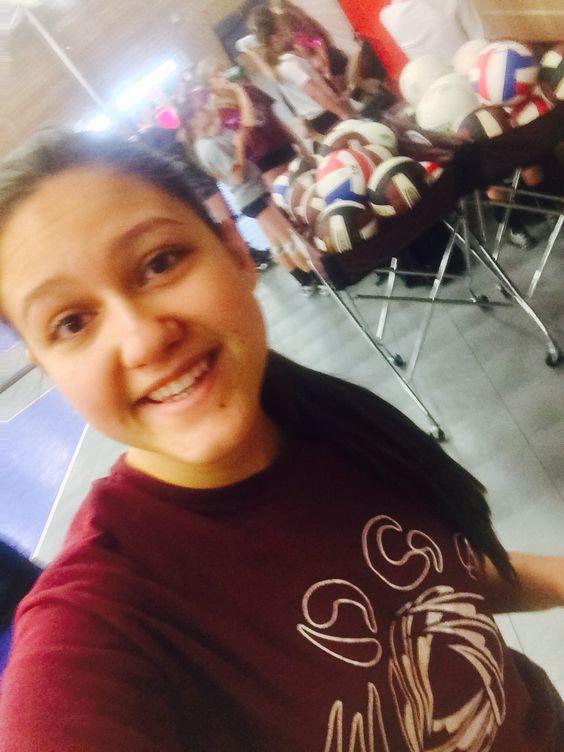 #20 #selfie at practice! (Water break!) #EDGE  #usav #youcouldwin