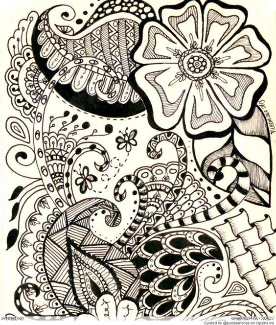 Zentangle Patterns \u0026 Ideas