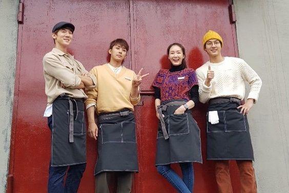 tvN's New Variety Show Shares Sneak Peek Of Yoo Yeon Seok And Son Ho Jun's Cafe
