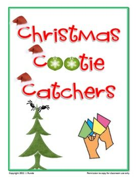 how to use a cootie catcher