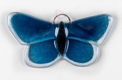 Glasschmetterling, Bläuling, Schmetterling aus Glas