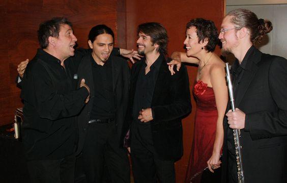 """Concierto """"Tributo a Astor Piazzolla"""" en L'Auditori (Barcelona) con Horacio Fumero, Pablo Logiovine, Manu Estoa y Pablo Giménez. Foto: Martin Marco"""