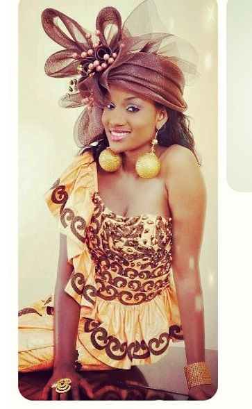 Beautiful west african dress