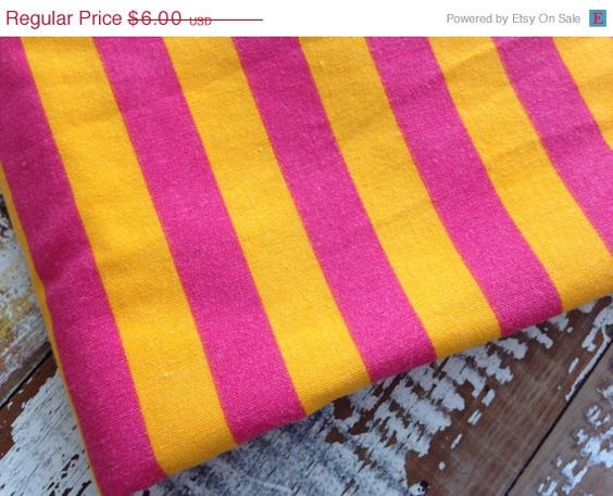 25% OFF WEEKEND SALE Circus Striped by whimsiedots on Etsy