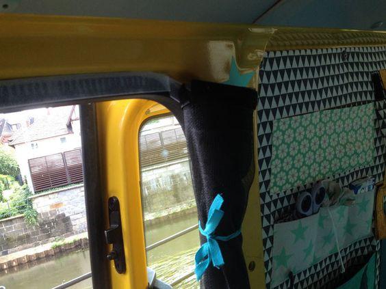 Busausbau t5 selber ausbauen dachfenster gardinen moskitonetze travel camper - Dachfenster gardinen katalog ...