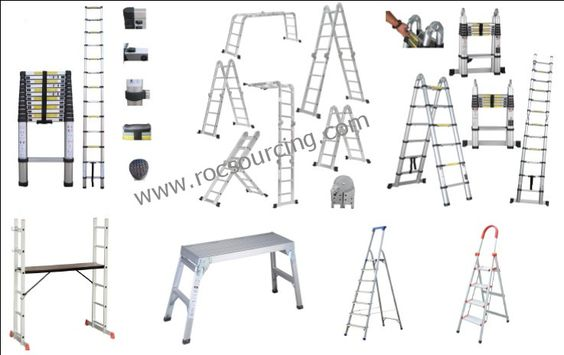 Construction Tool-Ladders  . Aluminium Telescopic Ladder  . Double-used Telescopic Ladder  . Multi-Purpose Ladder  . Engineering Ladder  . Household Step Ladder  . Workbench  . Accessories  …etc   ROC contracted best supplier  Price Adventage  Europe CE,TUV-GS,EN131  North America ANSI,CSA  Australia AS/NZS  Certificats Approved   Visit more by www.rocsourcing.com