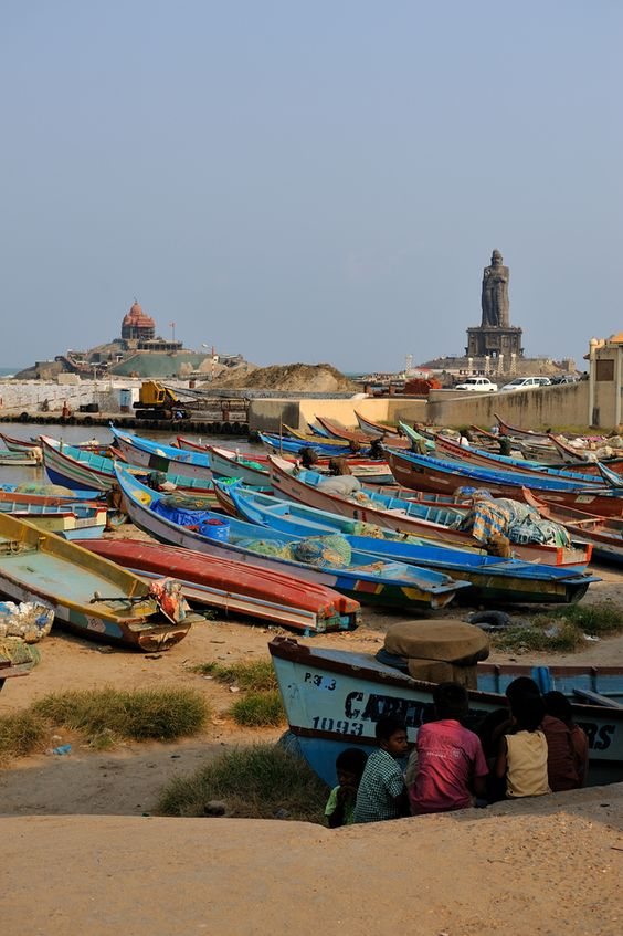Kanyakumari, Tamil Nadu. The southern tip of India.