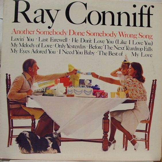 ray conniff - lp another somebody done wrong song 1975* importado