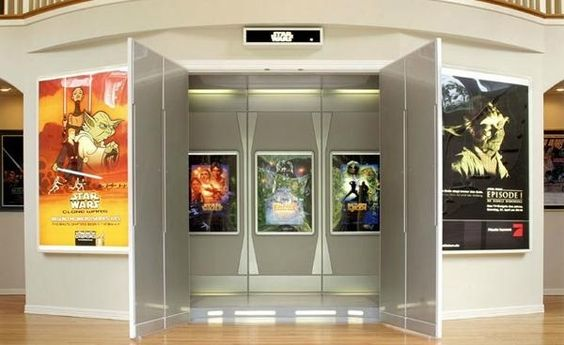 "Amazing ""Star Wars"" Themed Home Theater"