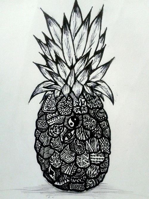 yin yang background tumblr - Google Search | Pineapples ...