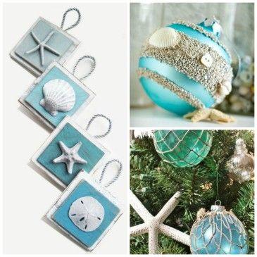 Decoração de natal no verão - ornamentos {Blog Divirta-se Organizando}