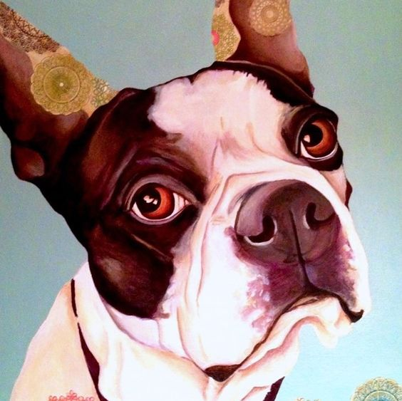 Three Dog Studio | Creating one-of-a-kind artwork for one-of-a-kind dogs.