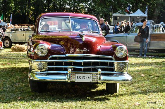 Chrysler Imperial au rasso de l'AMA #MoteuràSouvenirs Reportage complet : http://newsdanciennes.com/2016/10/06/14e-rasso-ama-asnieres-sur-oise-les-belles-anciennes-sous-le-soleil/