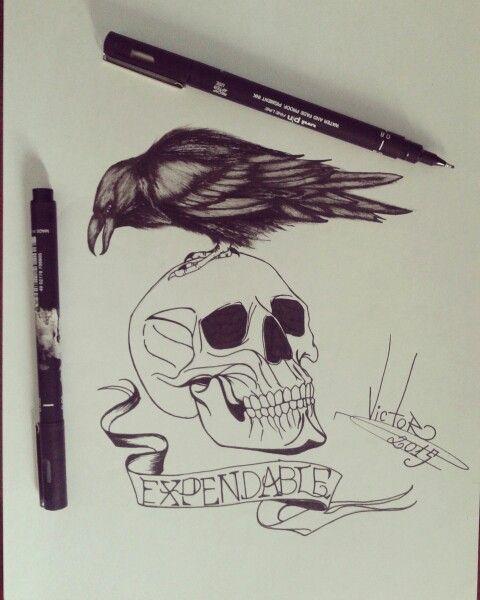 Desenho finalizado OS MERCENARIOS