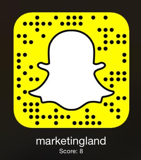 snapchat snapcode link update