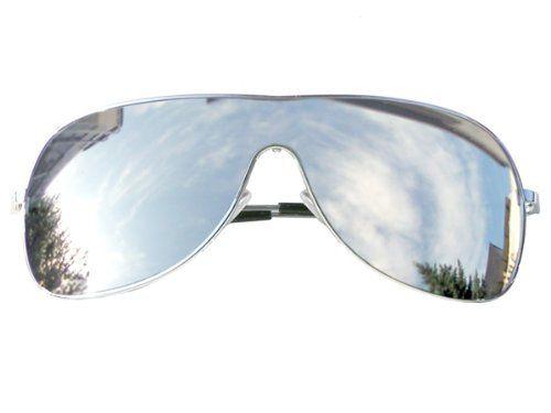 Tedd Haze Pilotenbrille Full Mirror mit Brillen Beutel