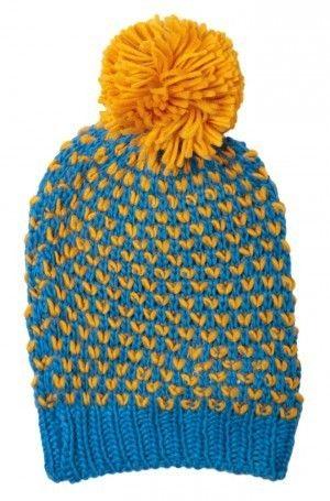 louche poodle bobble hat