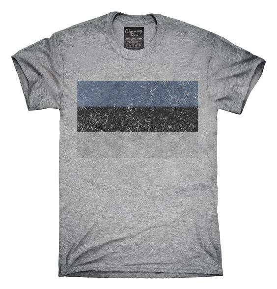 Retro Vintage Estonia Flag T-Shirts, Hoodies, Tank Tops
