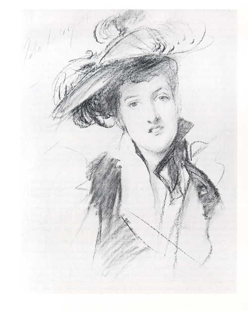 John Singer Sargent's Emma (Margot), Countess of Oxford and Asquith: