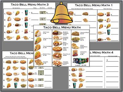 math worksheet : menu math binder  math binder worksheets and math : Free Menu Math Worksheets