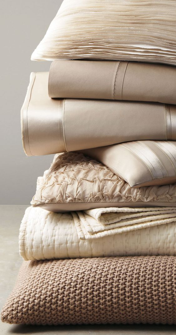 Donna Karan Home Essentials In Taupe Ivory White Or