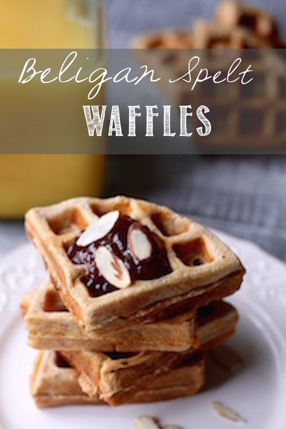 Waffles, Healthy and Fun on Pinterest