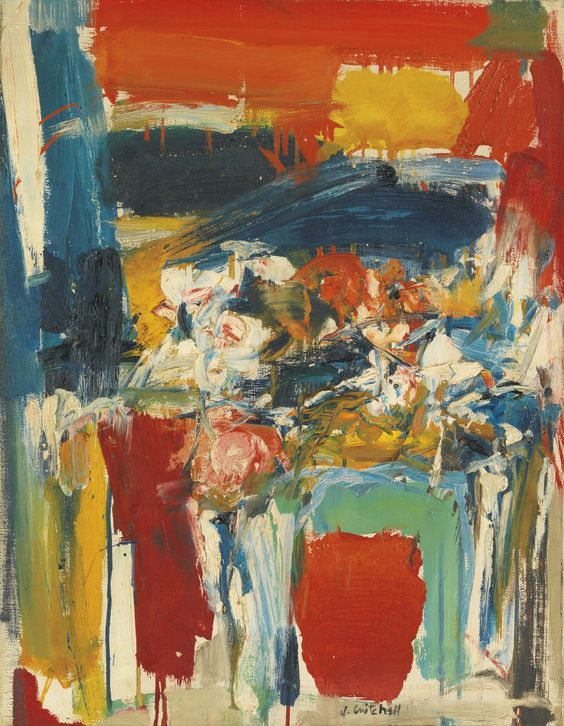 Joan Mitchell - Untitled, 1955, oil on canvas